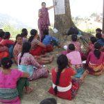 Conduct life skills class in Dandagaun