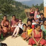 Meeting for the toilet construction in Koiralagaun