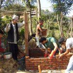 Toilet construction program