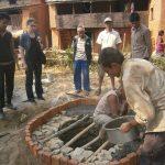 toilet construction project