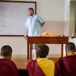 teaching buddhist monastry nepal