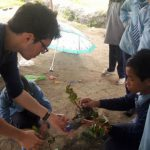 teaching children on environment conservation