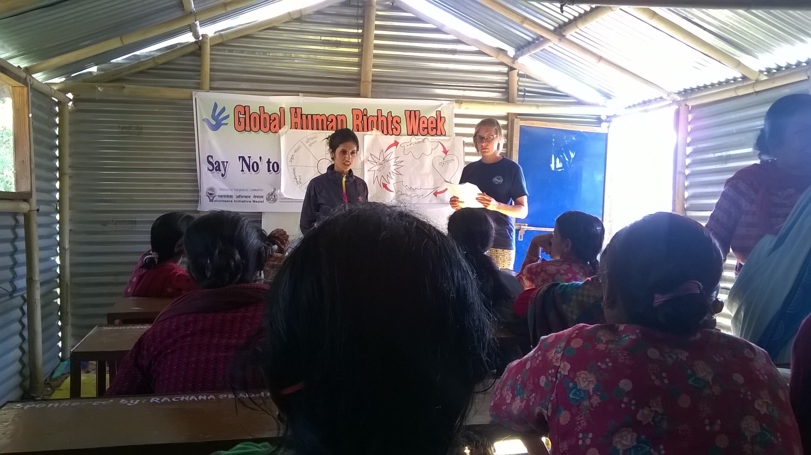 VIN conducting program against domestic violence