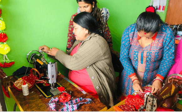 """Training of Proper methods for the """"Simleshwor Bag Project"""