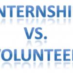 Volunteerism Vs Internship