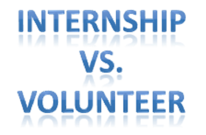 Volunteerism Vs Internship