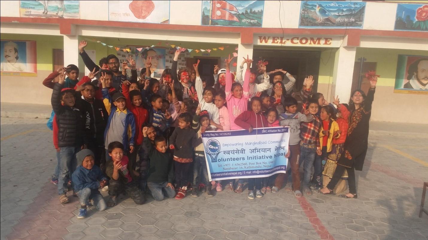Children's winter camp - Volunteers Initiative Nepal