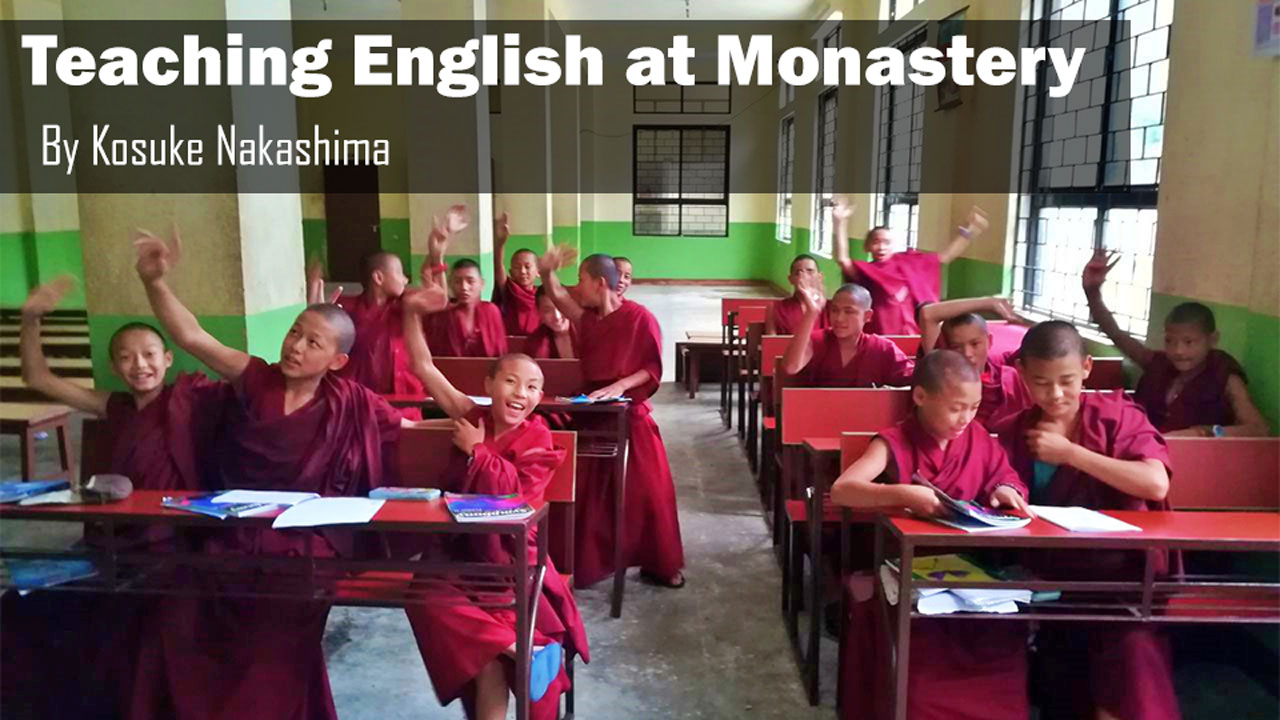 teaching english monasteries