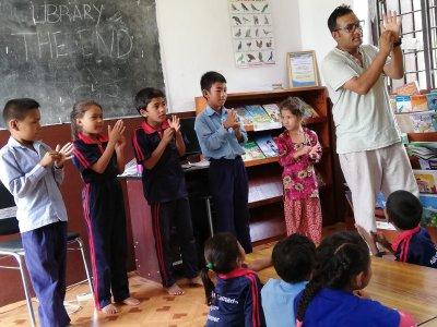 Volunteering, Raju