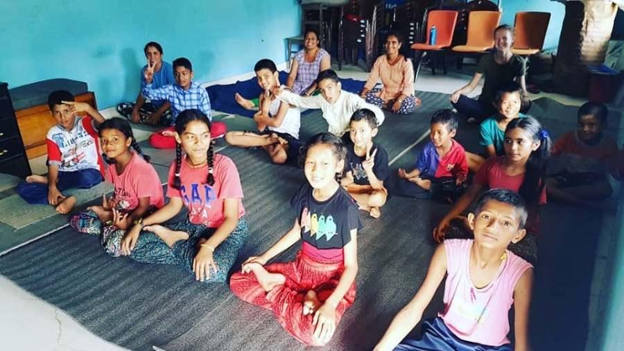 Yoga Training jelena